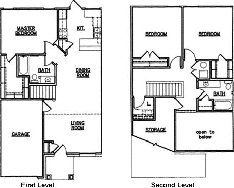 1,451 sq. ft. 60 floor plan