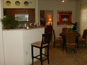 Dining/Kitchen at Listing #144422