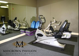 Fitness Center at Listing #144868