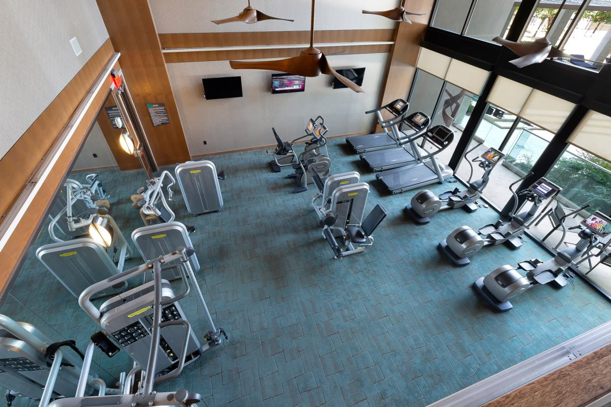Fitness Center at Listing #226459