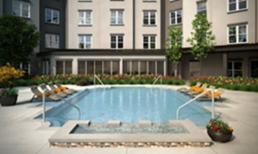Pool at Listing #296722