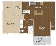 906 sq. ft. Joplin floor plan