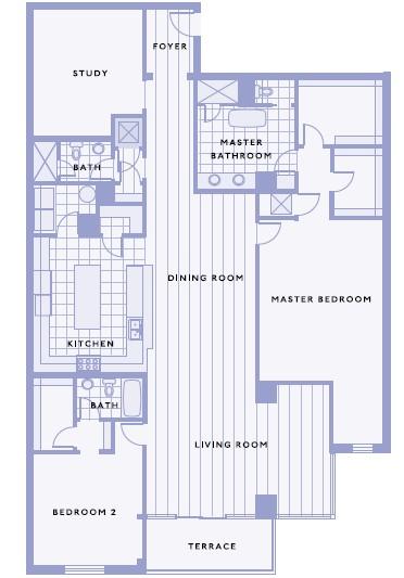 2,766 sq. ft. C floor plan
