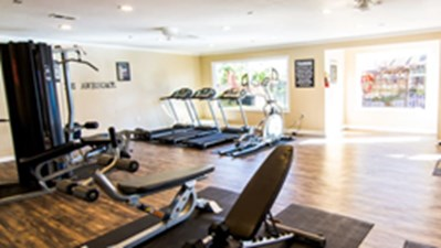Fitness Center at Listing #139259