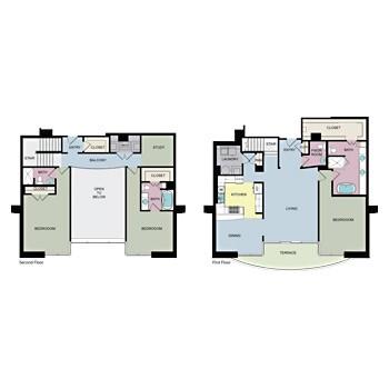2,527 sq. ft. PH2 floor plan