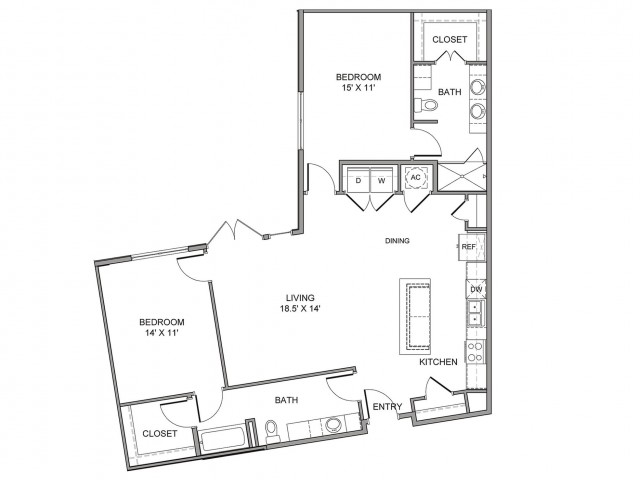 1,298 sq. ft. San Jacinto floor plan