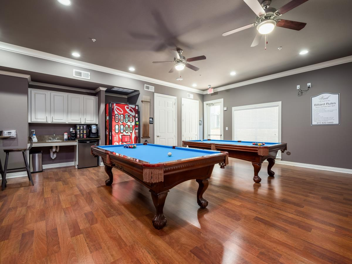 Gameroom at Listing #144699