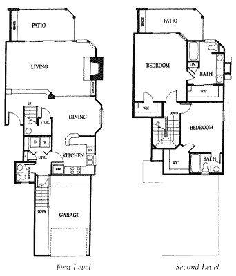1,503 sq. ft. 2DG floor plan