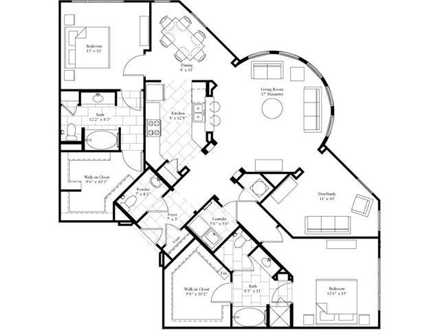 1,701 sq. ft. floor plan
