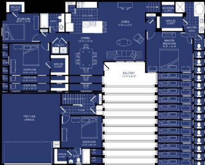 1,910 sq. ft. Equinox floor plan