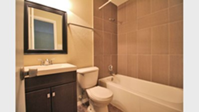 Bathroom at Listing #141120