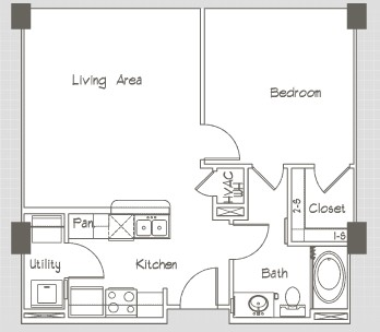 1,636 sq. ft. P15 floor plan
