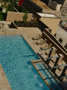 Pool Area at Listing #147722