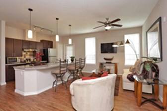 Living/Kitchen at Listing #147790