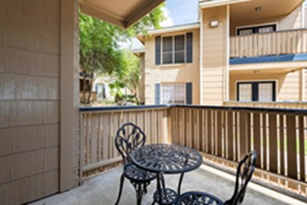 Patio at Listing #140837