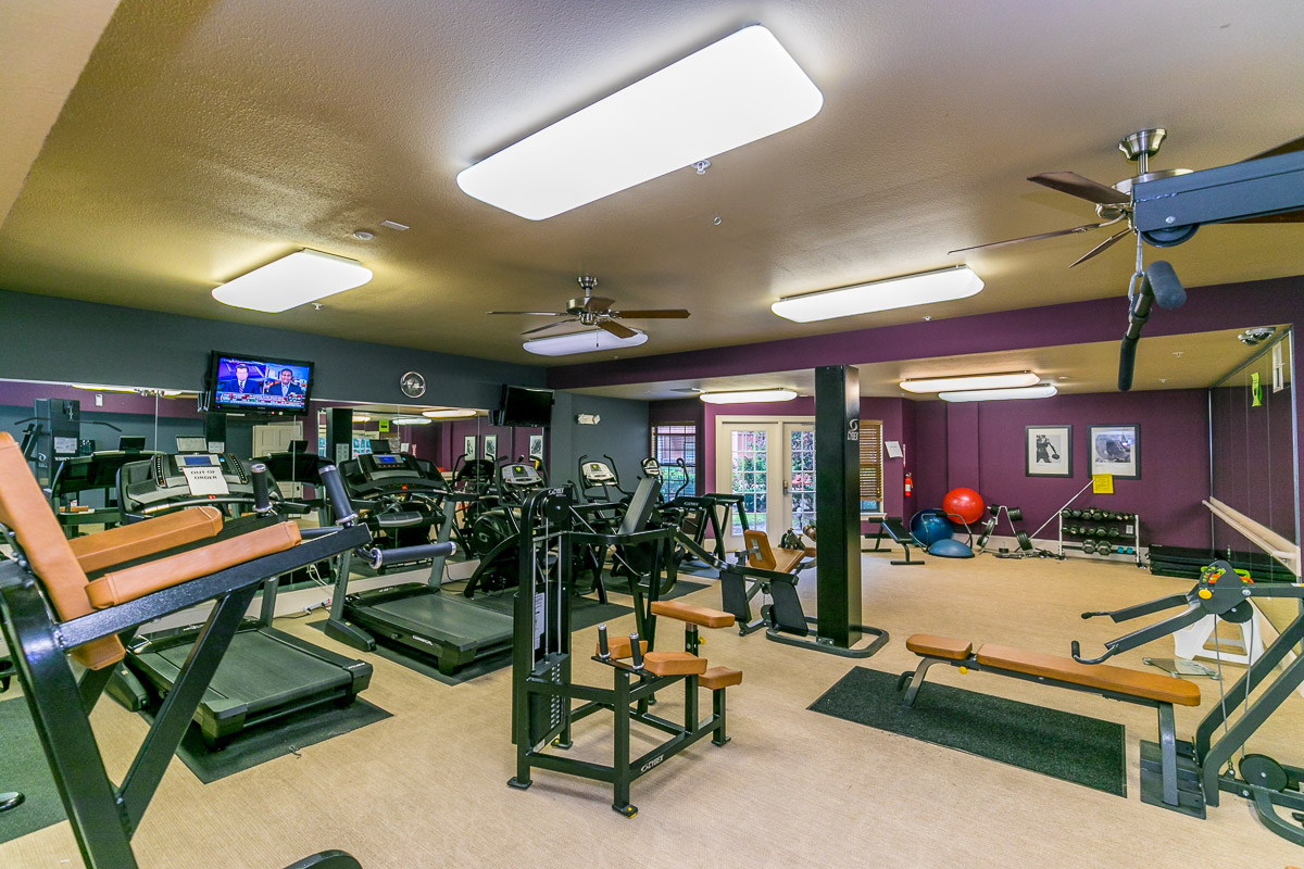 Fitness Center at Listing #144665