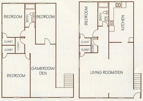 1,700 sq. ft. floor plan