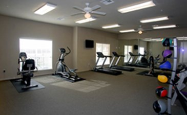 Fitness Center at Listing #149894