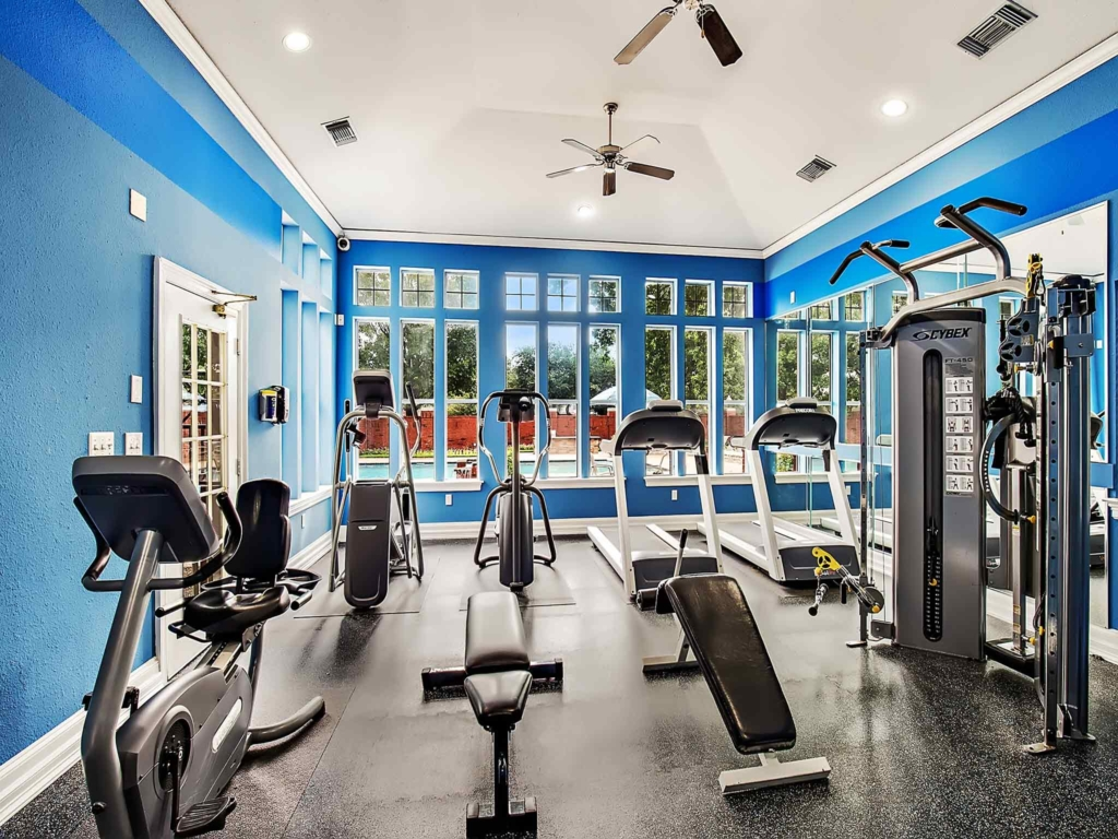 Fitness Center at Listing #137646
