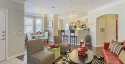 Living/Dining at Listing #145096