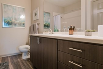 Bathroom at Listing #140705