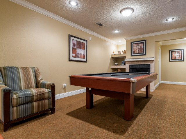 Gameroom at Listing #136938