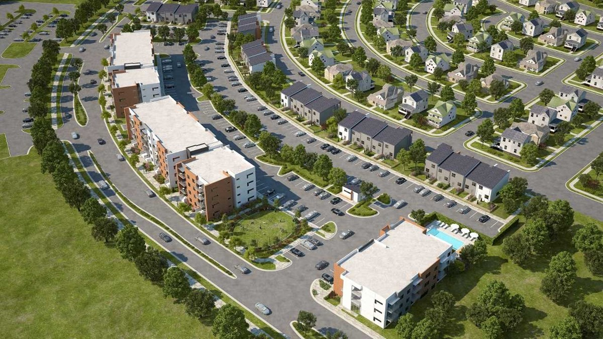Aerial View at Listing #282821