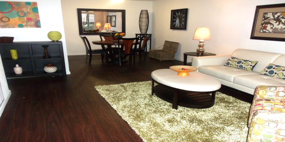 Living/Dining at Listing #138655