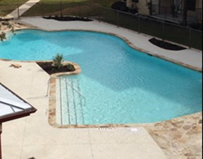 Pool at Listing #253212