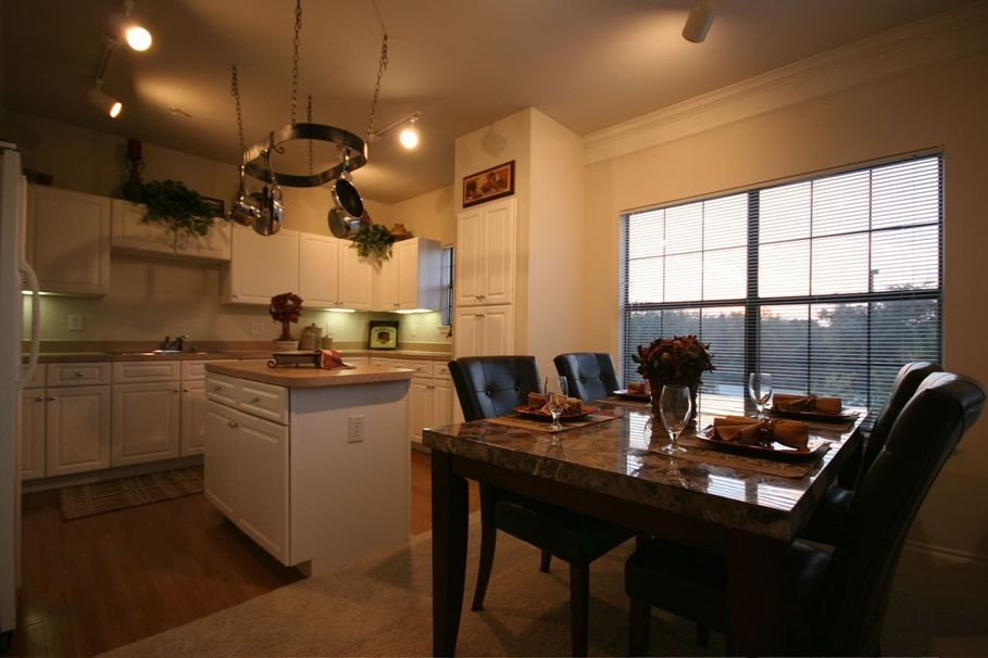 Dining/Kitchen at Listing #137921