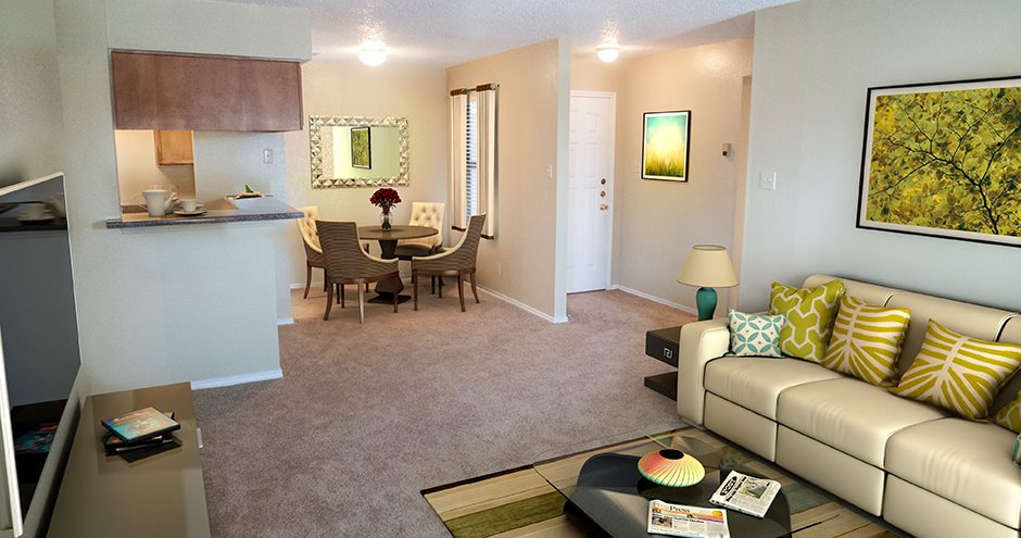 Living/Dining at Listing #137506