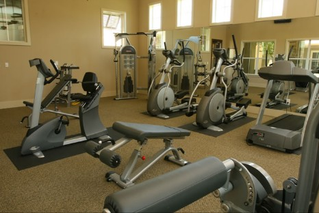 Fitness Center at Listing #144910