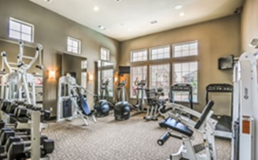 Fitness Center at Listing #144589