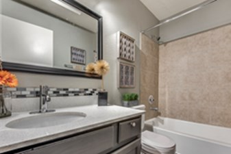 Bathroom at Listing #136724