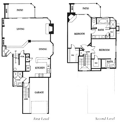 1,773 sq. ft. 2EG floor plan