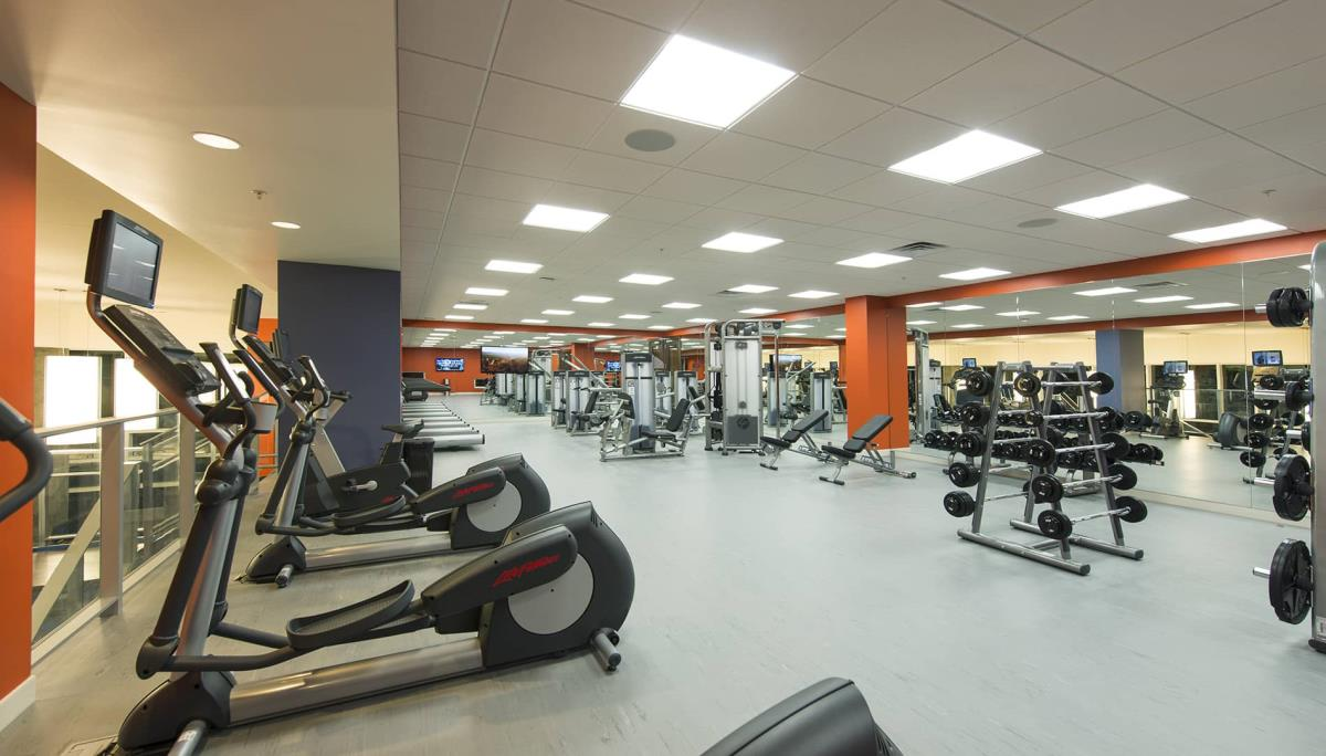fitness center at Listing #151941