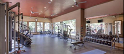 fitness center at Listing #140690