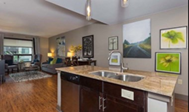 Living/Kitchen at Listing #151526