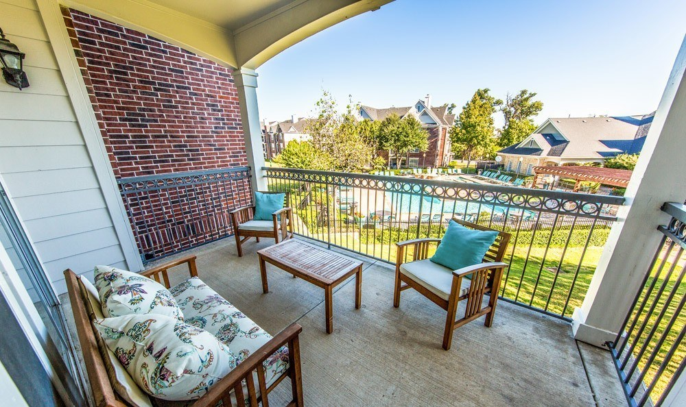 Patio at Listing #138003