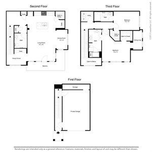 1,670 sq. ft. B2TH floor plan