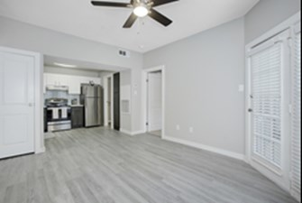Living/Kitchen at Listing #138419