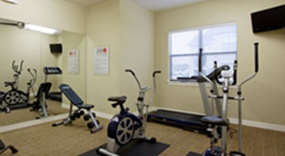 Fitness Center at Listing #153030