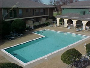Pool Area at Listing #136360