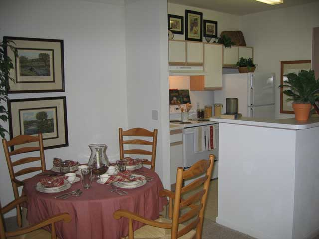 Dining/Kitchen at Listing #138259