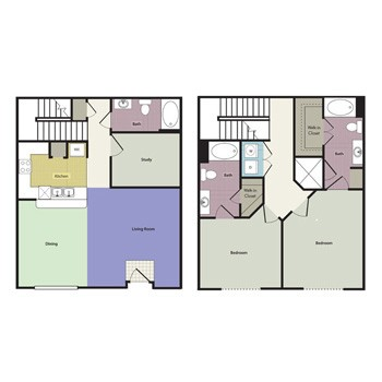 1,721 sq. ft. Havencrest floor plan