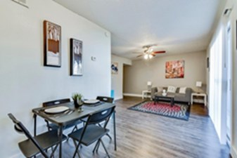 Living/Dining at Listing #140419