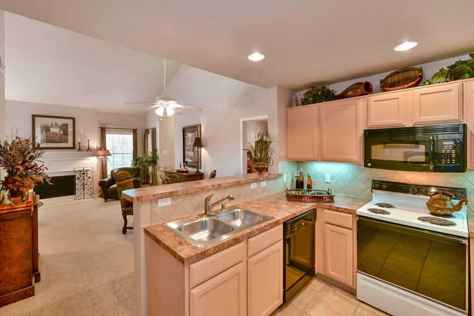 Kitchen at Listing #136232