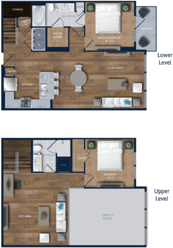 1,479 sq. ft. A8M floor plan
