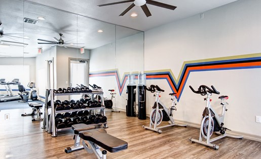 Fitness Center at Listing #140685