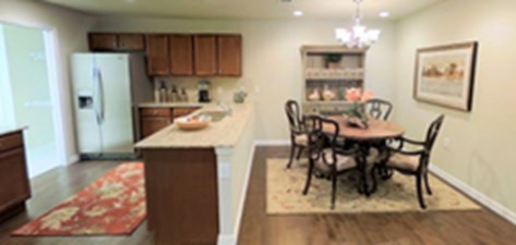 Dining/Kitchen at Listing #265688